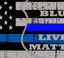 blue lives matter best t shirt Sticker
