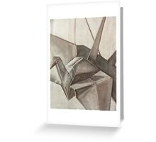 Origami Crane Greeting Card