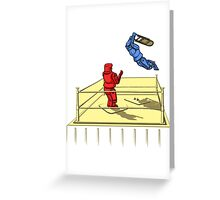 Battlebot Smackdown Greeting Card