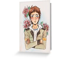Voltron - LANCE ver.1 Greeting Card