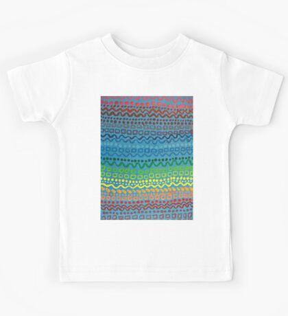 Rainbow Pattern Kids Tee