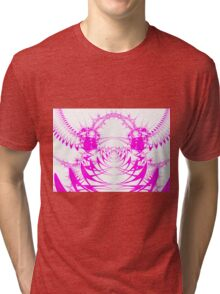 Fractal - the fly has come to take us away Tri-blend T-Shirt