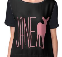 Life is strange Jane Doe pink Chiffon Top