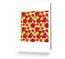 Very nice bright summer floral seamless pattern. Greeting Card