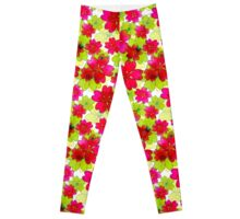 Very nice bright summer floral seamless pattern. Leggings