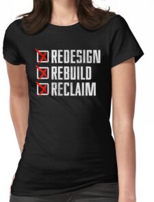 Seth Rollins - Redesign Rebuild Reclaim Womens Fitted T-Shirt