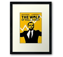 The Wolf of Wall Street - 'The show goes on!' Framed Print