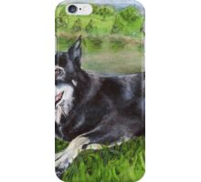 River dog iPhone Case/Skin