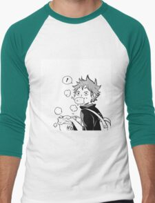 Super cute Hinata Shoyo - Nikuman Men's Baseball ¾ T-Shirt