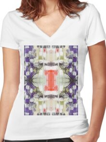 100 Days: 70/100 Women's Fitted V-Neck T-Shirt