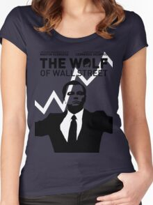 The Wolf of Wall Street - 'The show goes on!' Women's Fitted Scoop T-Shirt