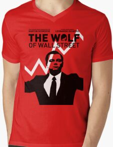 The Wolf of Wall Street - 'The show goes on!' Mens V-Neck T-Shirt