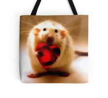 Mouse Heart Tote Tote Bag
