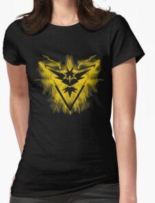 Team Instinct Pokemon Womens Fitted T-Shirt