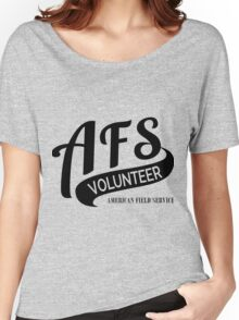 AFS Volunteer  Women's Relaxed Fit T-Shirt