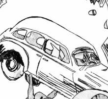 Pengiun Action comics Sticker