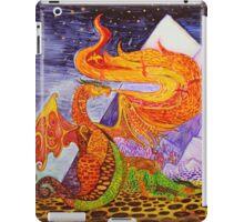 Klimt dragons iPad Case/Skin