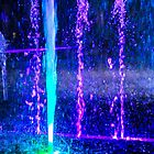 New Year fountain colours by indiafrank