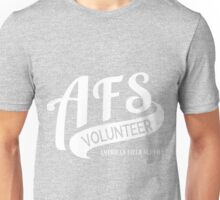 AFS Volunteer White Unisex T-Shirt