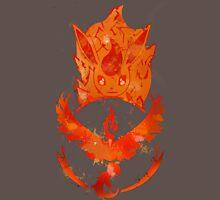 Team Valor Flareon (Dark) Unisex T-Shirt