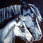 Sion and Twysog by Jacki  Clark