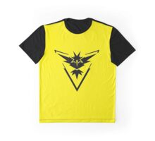 Pokémon Go - Team Instinct Zapdos Graphic T-Shirt
