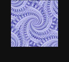 Flower Power Spirals - Blue Mix Unisex T-Shirt