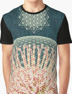 Protea Flower of Life Graphic T-Shirt
