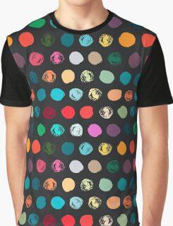 Colorful seamless polka dot pattern Graphic T-Shirt