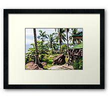 Beautiful tropical landscape on Koh Kood island, Thailand Framed Print