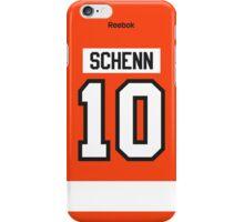 Philadelphia Flyers Brayden Schenn Jersey Back Phone Case iPhone Case/Skin