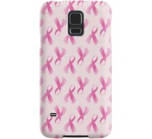 Pink Breast Cancer Ribbon, Breast Cancer Support Samsung Galaxy Case/Skin