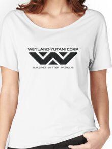 Weyland Yutani - Black Logo Women's Relaxed Fit T-Shirt
