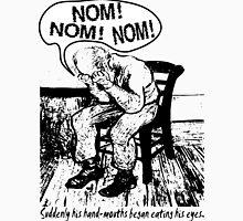 NOM NOM NOM : Hand Mouths Unisex T-Shirt