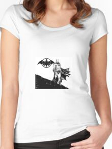 Batsassin's Creed Women's Fitted Scoop T-Shirt