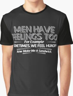 MEN FEELINGS Graphic T-Shirt
