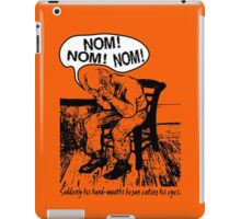 NOM NOM NOM : Hand Mouths iPad Case/Skin