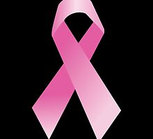 Pink Breast Cancer Ribbon, Breast Cancer Support by Carolina Swagger