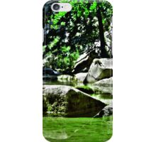 Green Mirror iPhone Case/Skin