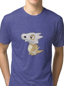 Cubone with Outline Tri-blend T-Shirt