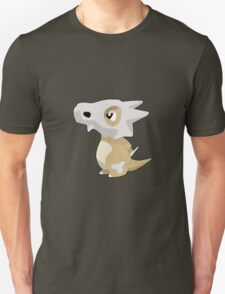 Cubone with Outline Unisex T-Shirt