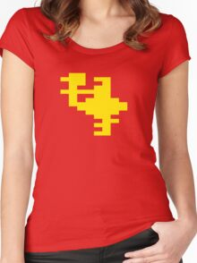 Yellow Joust Women's Fitted Scoop T-Shirt