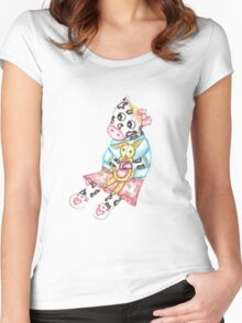 Playtime  Women's Fitted Scoop T-Shirt