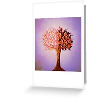 The Tree of Life at Dawn Greeting Card