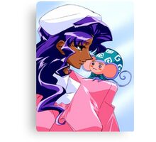 Anthy and Chuchu Canvas Print