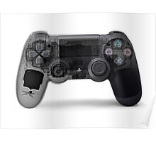 Play station (PS4) under x-ray Poster