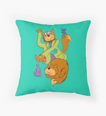 Pet's dream Throw Pillow