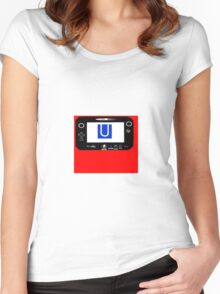 Wii U Women's Fitted Scoop T-Shirt