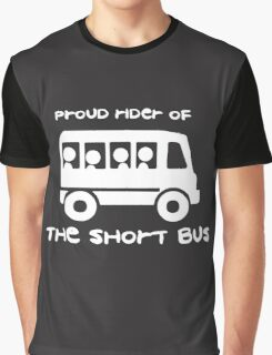 Short Bus Rider Graphic T-Shirt