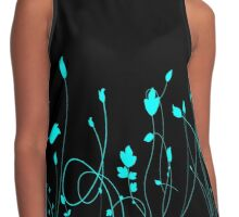 Leaves Contrast Tank